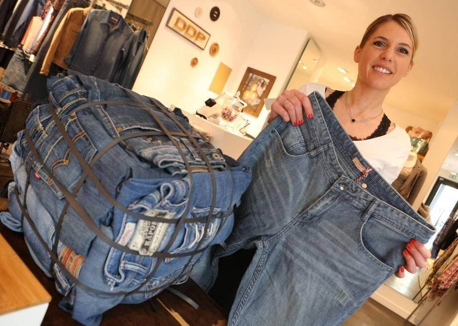 Ramener ses jeans usagés et s'offrir un nouveau pantalon à meilleur prix. C'est ce que propose la boutique DDP à Saint-Raphaël.
