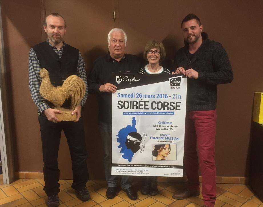 Le rendez-vous est donné au centre Maurin-des-Maures à partir de 21 h. A droite : l'adjoint à l'animation Aimé Garnier.