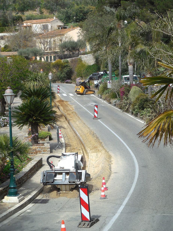 Les travaux ont débuté cette semaine sur le boulevard du soleil.