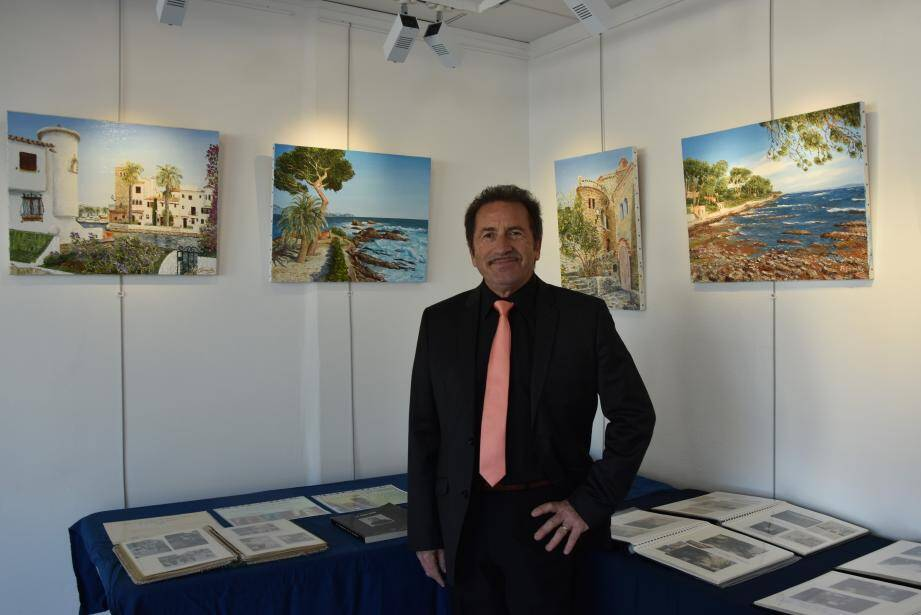 Robert Semelle peint des paysages depuis plus de 50 ans au couteau et à l'huile. Tout son parcours est à découvrir à la galerie Horace-Vernet.