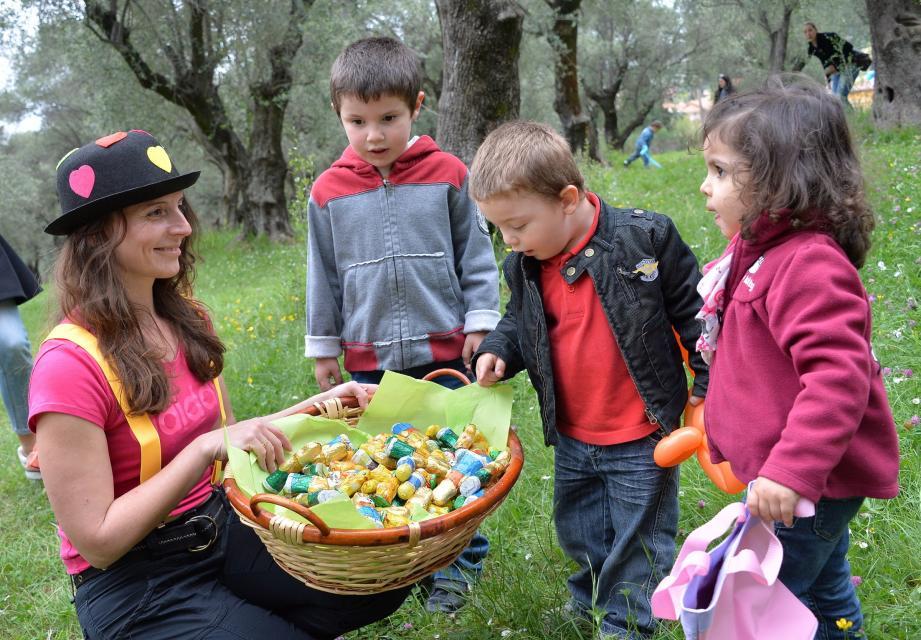 La chasse aux œufs, c'est dimanche matin au parc du Cap-Martin. Et comme les années précédentes, les petits chasseurs de chocolat seront légion !