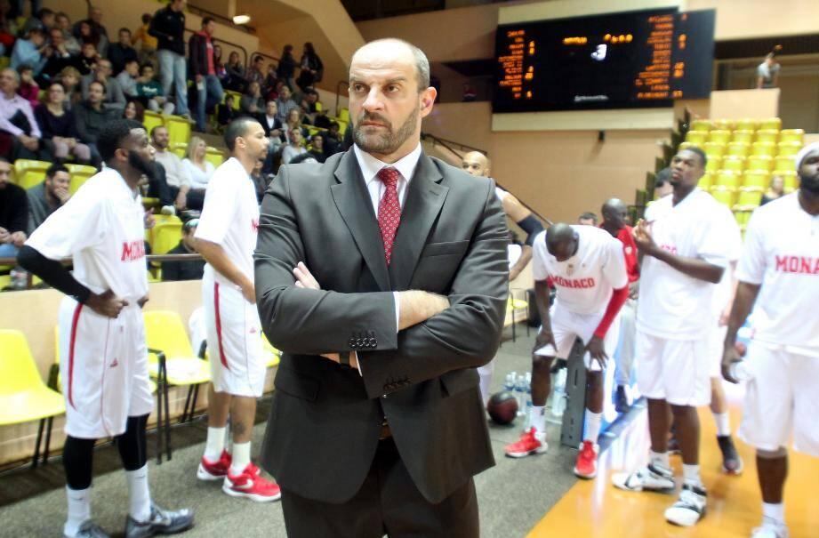 Zvezdan Mitrovic, coach de la Roca Team qui attend Dijon.