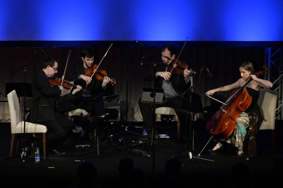 Le Quatuor Tana aura marqué de son passage le Printemps des arts.