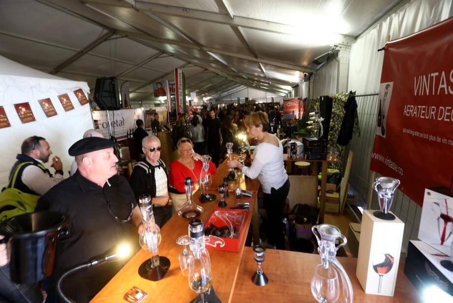 Vin, gastronomie et animations. Le triptyque traditionnel de Bacchus a une nouvelle fois séduit le public tout au long du week-end.
