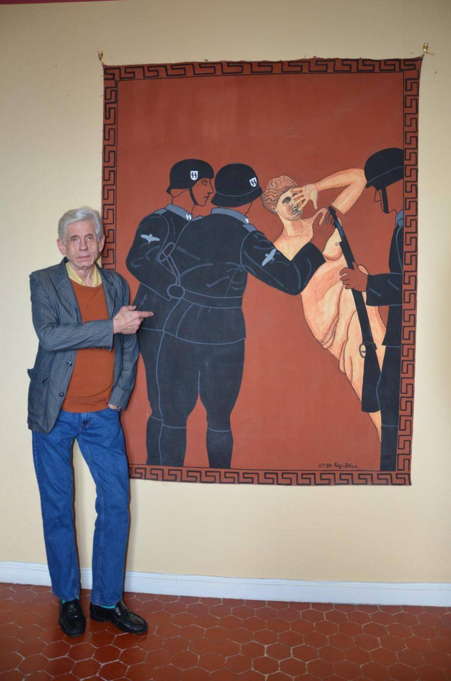 Ruy Blas et sa «Vénus de Milo» en grand format