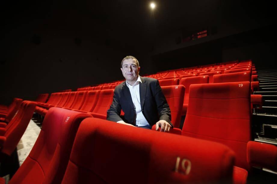 Dans toutes les salles, montre Alain Poujol, directeur du Pathé Grand Ciel et du futur Pathé  La Valette, les rangées et les fauteuils sont désormais numérotés.