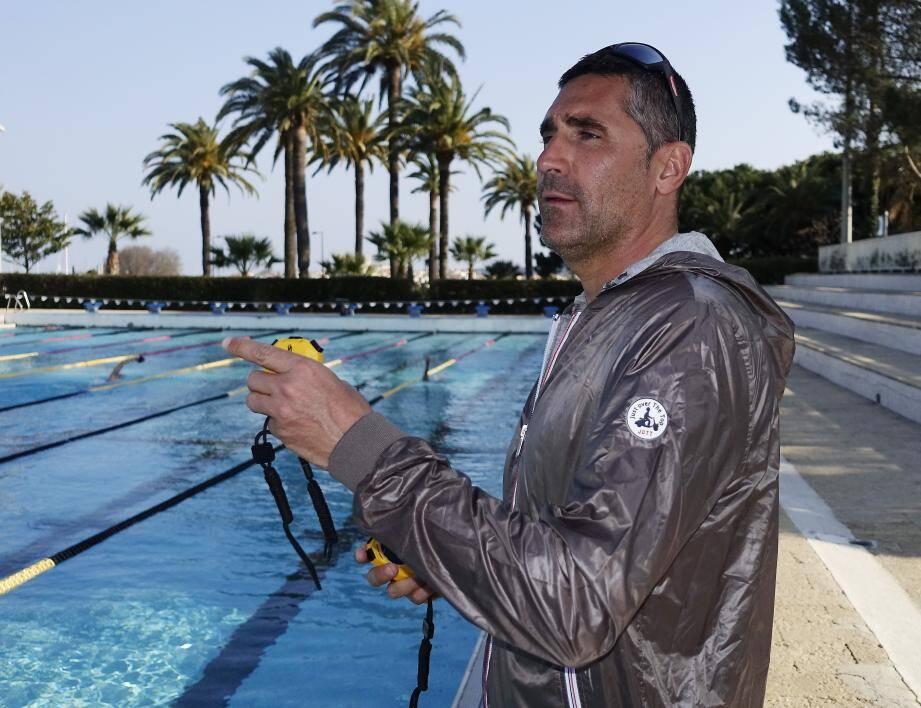 Franck Esposito, coach du pôle France d'Antibes, espère entre une et quatre qualifications antiboises pour les JO de Rio.
