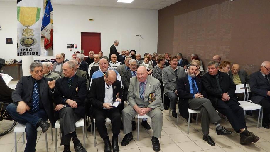 Les adhérents et associations patriotiques voisines ont tenu leur assemblée générale.