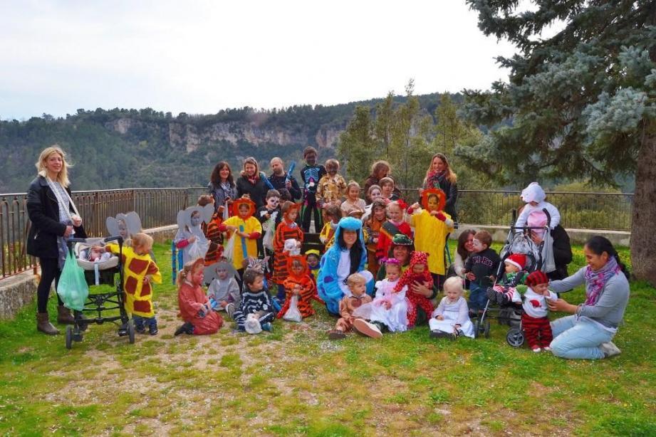 L'école et la crèche ont fêté Carnaval.