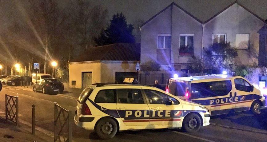 Opération en cours à Argenteuil.