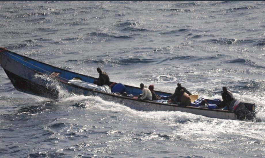 Les pirates avaient caché leur otage sous une bâche pendant deux jours.