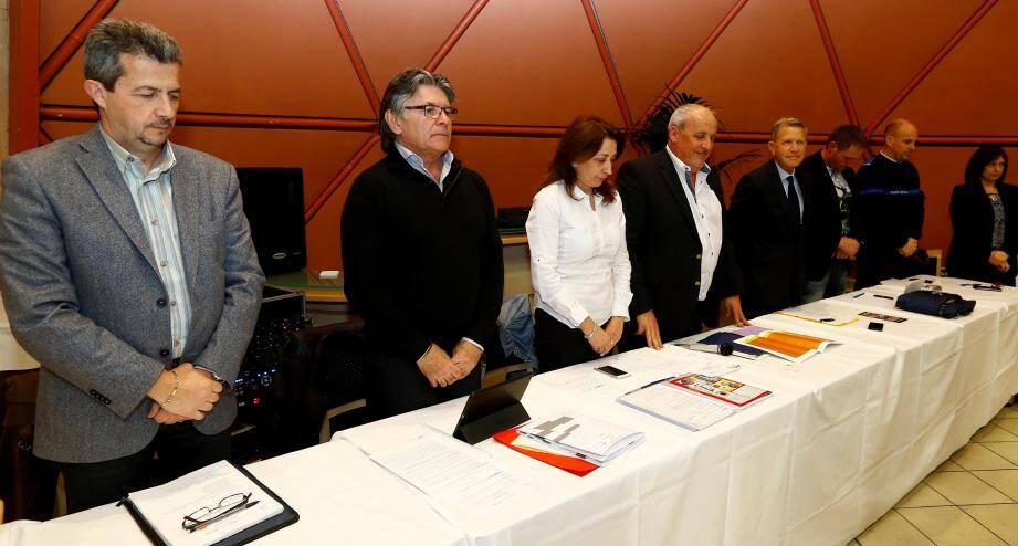 L'UBACI a rendu hommage aux victimes des attentats de Bruxelles avant de passer à l'ordre du jour.