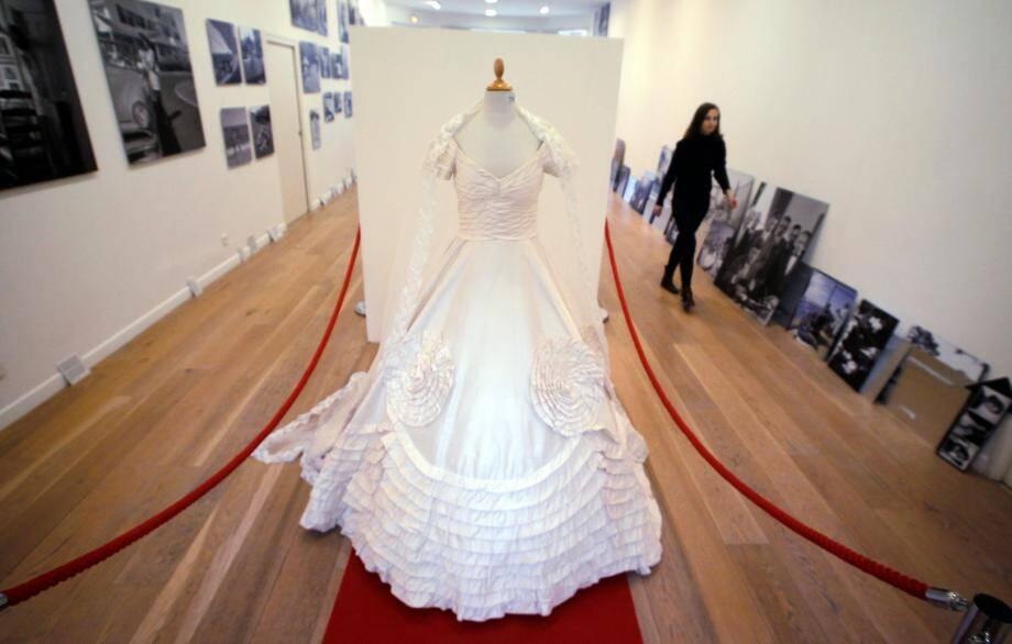 Illustration robe de mariée