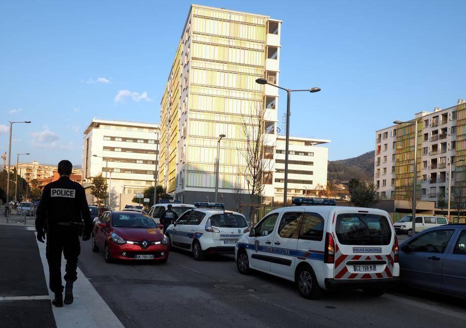 Le quartier de l'Ariane, à Nice, où le taux de chômage dépasse parfois 50% chez les plus jeunes.