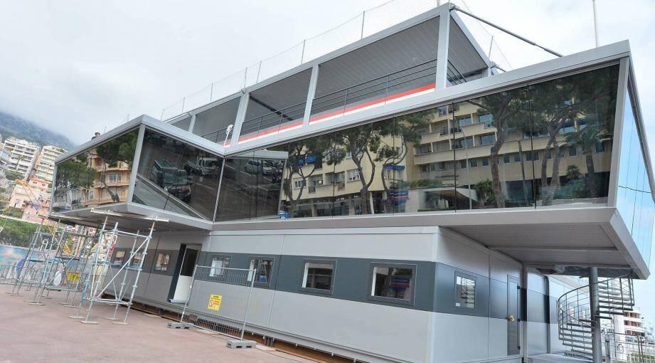 La tour de contrôle du Grand Prix de Monaco.