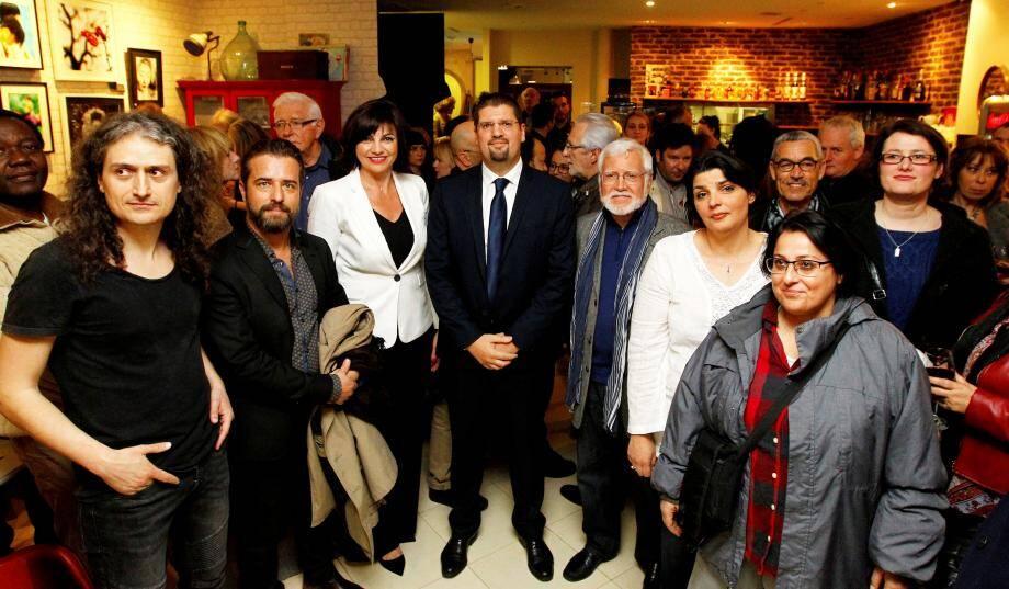 David Nakache lance l'association Tous citoyens ! à Nice, le 21 mars