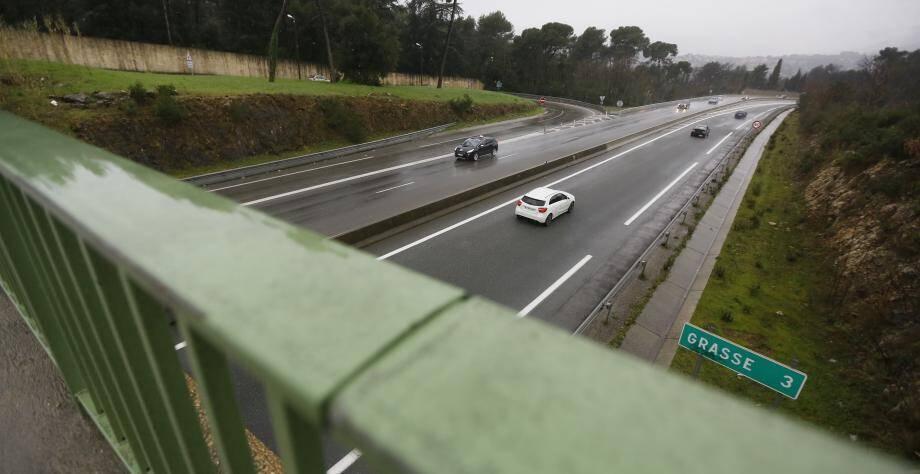 La pénétrante Cannes-Grasse sera bientôt limitée à 90km/h.