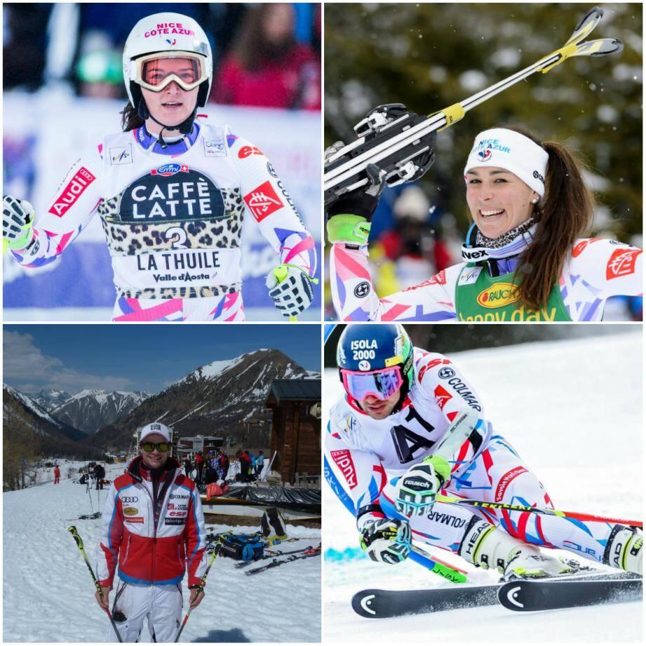 Margot Bailet, Nastasia Noens, Matthieu Bailet et Mathieu Faivre finissent leur saison de Coupe du monde cette semaine à Saint-Moritz.
