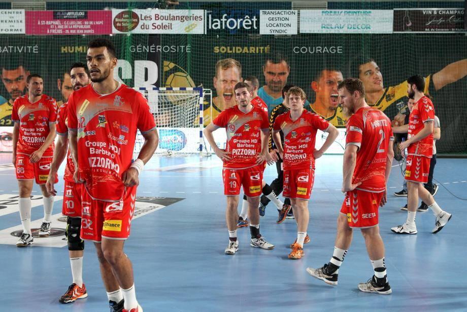L'équipe de Saint -Raphaël.