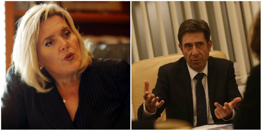 Michèle Tabarot et Charles Ange Ginésy ont versé une part de leur réserve parlementaire à Grasse et aux communes alentours.