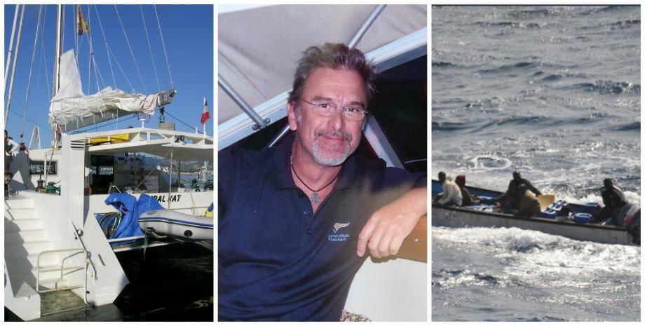 Le navigateur toulonnais Christian Colombo a été tué dans l'attaque de son voilier.