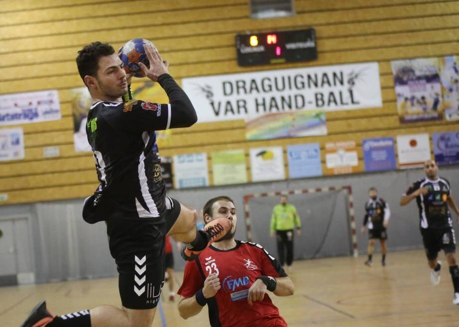 Les handballeurs dracénois ne devraient pas rencontrer de problème dimanche à l'occasion de la réception d'Ajaccio.