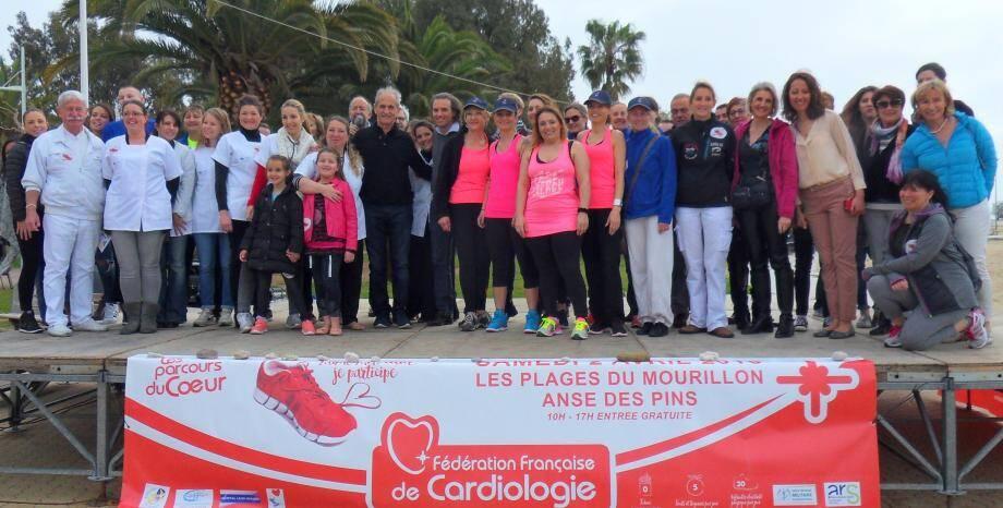 Les parcours du cœur, mis en place samedi au Mourillon, sous l'égide de la Fédération française de cardiologie, ont incité les Varois à bouger.