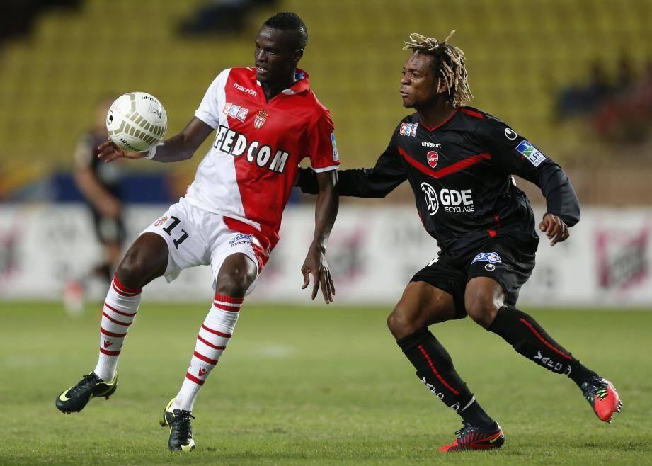 Ibrahima Touré, 28 buts en 18 mois en Ligue 2 avec l'AS Monaco alors qu'il venait d'un club inconnu des Emirats, symbole du bon recrutement.
