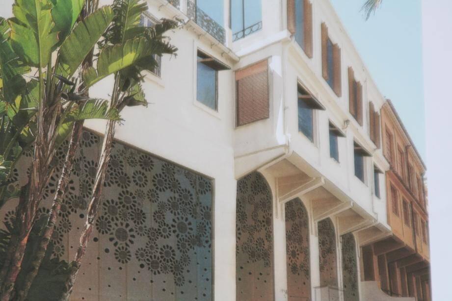 La villa Namouna changera de look et d'affectation : livraison prévue fin 2017.