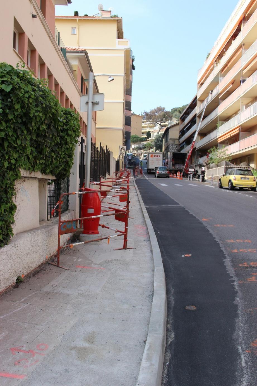 Des places de stationnement sont supprimées afin de rendre la voie plus  accessible.