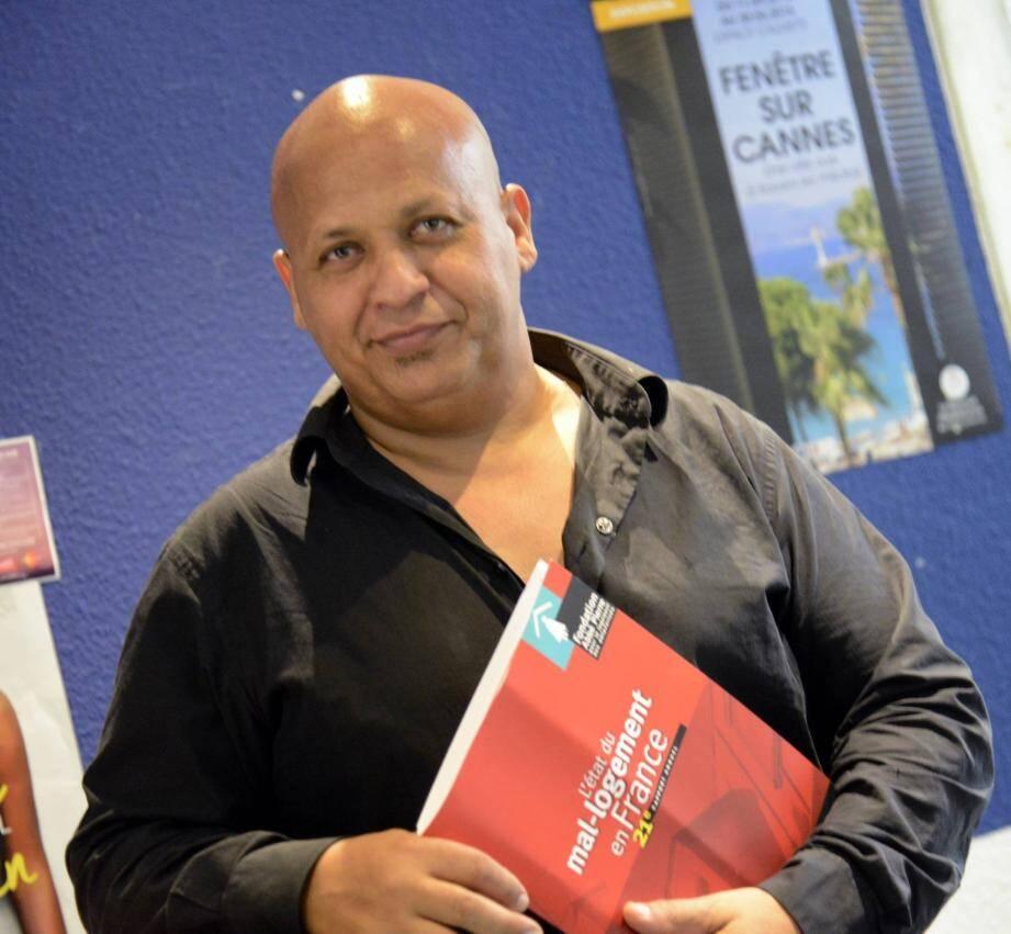 Fathi Bouaroua, directeur régional de la Fondation. (photo Gilles Traverso)