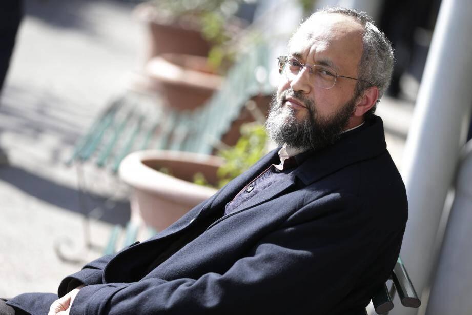 Hani Ramadan, hier à Nice, où il a tenu une conférence.