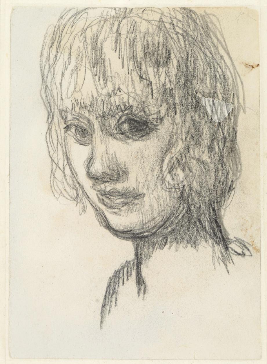Ce portrait de Renée Monchaty, de 1922, est un dessin sur papier faisant partie des acquisitions.