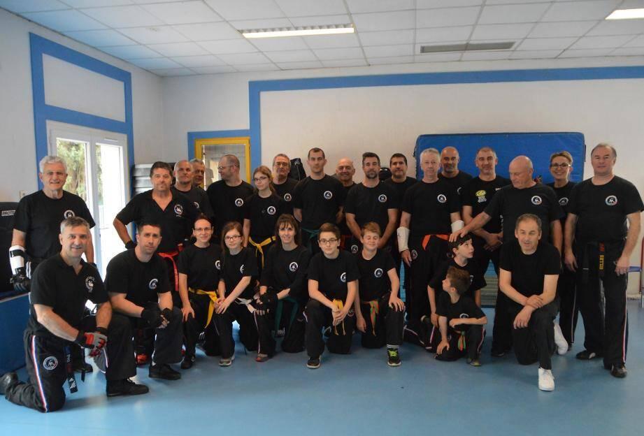 Les participants de toutes générations ont apprécié cette journée intense à Auribeau-sur-Siagne.
