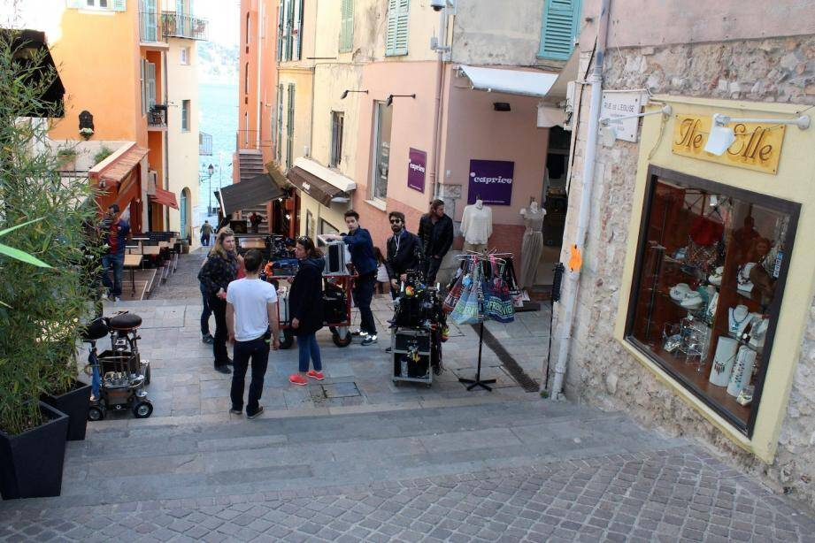 Du 7 au 9 avril, les ruelles du vieux-Villefranche avaient servi de décor au biopic de Dalida, réalisée par Lisa Azuelos.