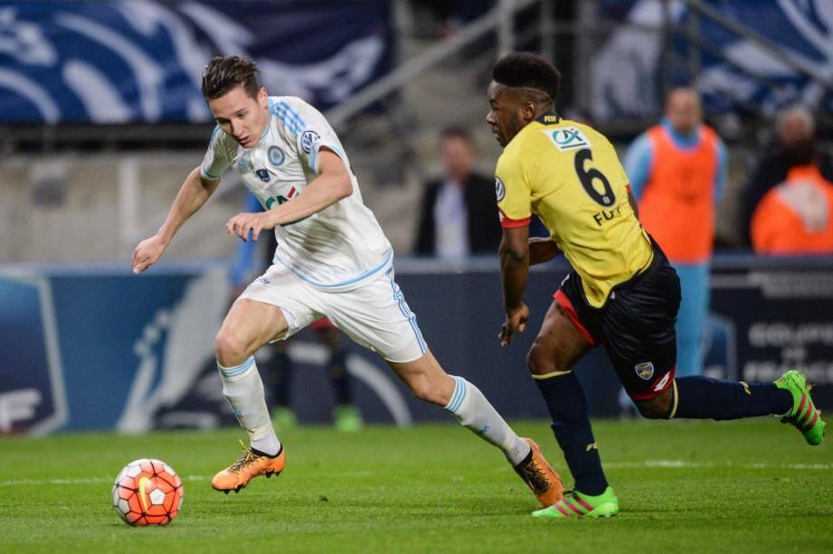 Florian Thauvin, cette fois décisif, a inscrit le but de la qualification en finale. L'OM affrontera le PSG le 21 mai au SDF et peut encore sauver sa saison.