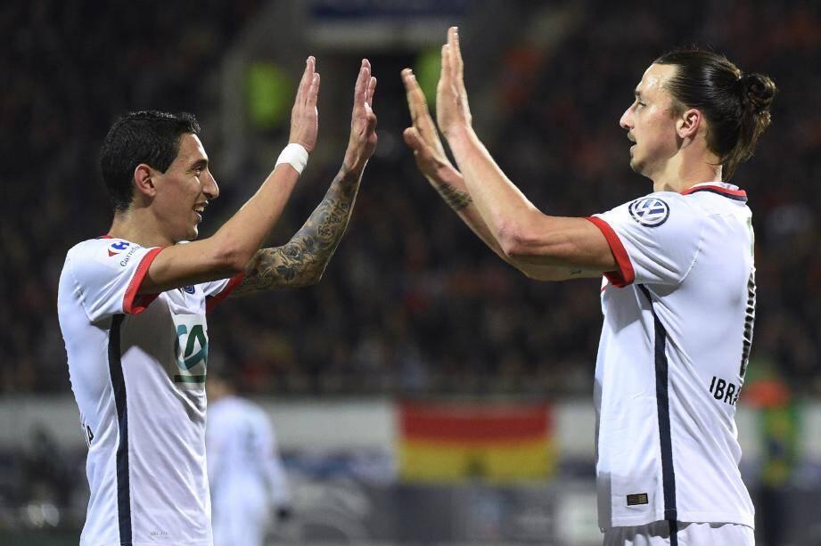 Le PSG comptera une nouvelle fois sur ses stars, Di Maria et Zlatan, pour faire la différence.