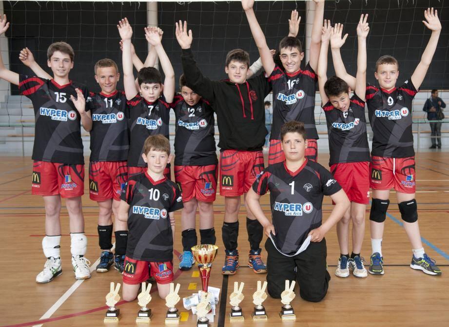 Les M13 champions du Var.