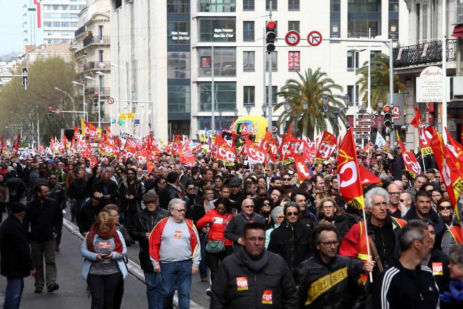L'intersyndicale appelle à manifester ce jeudi, mais également dimanche, à l'occasion de la fête du travail.