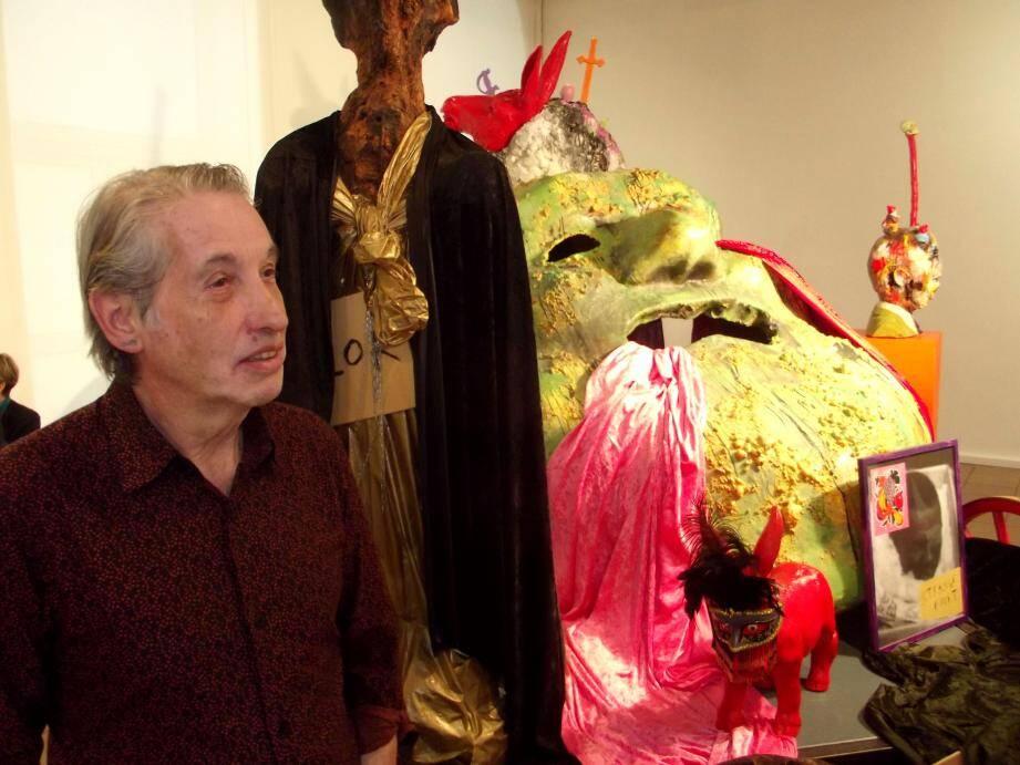 Une des pièces montées nommée « Les Canards Enchaînés » avec Arnaud Labelle-Rojoux.