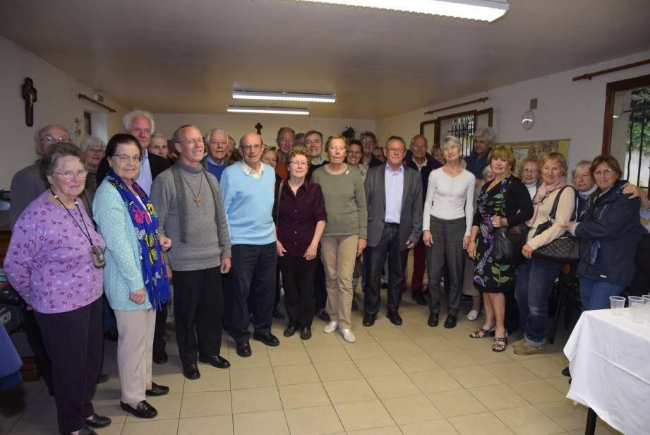 Une quarantaine de personnes est venue à l'assemblée générale des Amis de la Croix, qui gèrent notamment l'entretien de la paroisse.