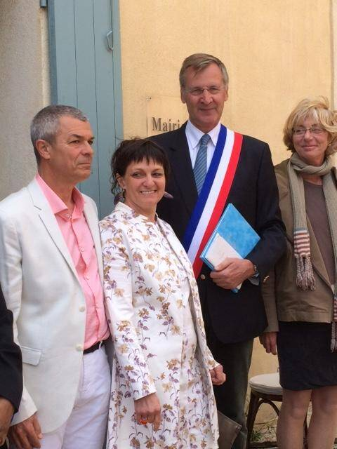 Le garde du Parc national, François Boutonnet, a dit oui à Fabienne Rifflet, auxiliaire de bibliothèque.