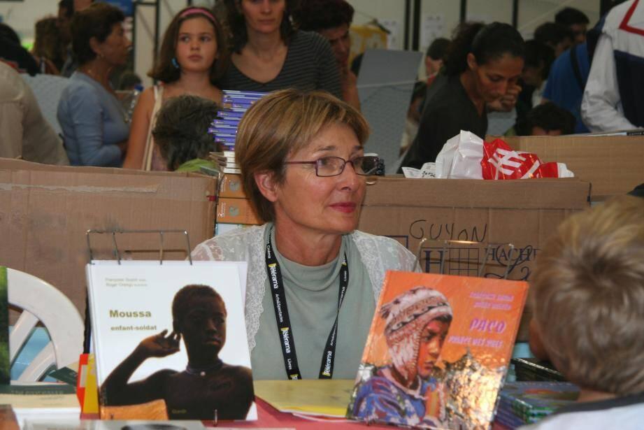 Françoise Guyon est entre autres l'auteur d'albums pour la jeunesse illustré par un autre Vençoise, Roger Orengo.(DR)