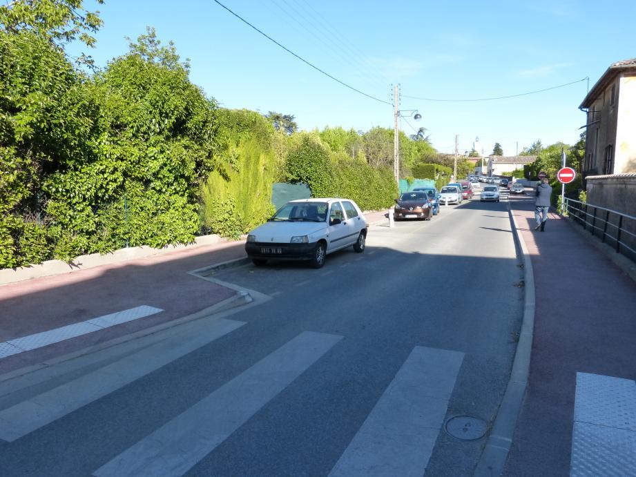 Les faits se sont déroulés dans un lotissement situé à proximité de l'avenue Montferrat.