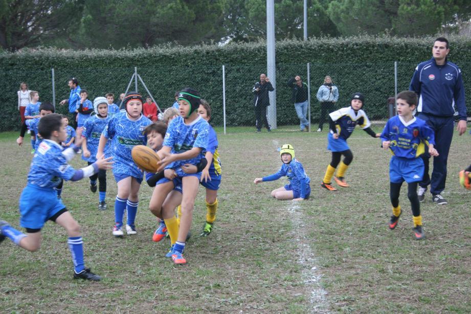 à la découverte du rugby ce dimanche au complexe des Blaquières.