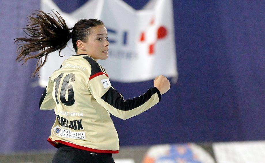 En s'imposant à Metz ce soir, Cléopâtre Darleux et les Niçoises seront en finale du championnat.