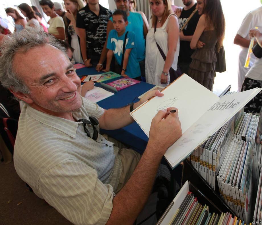 Le dessinateur de BD collois Jacques Ferrandez sera de la fête.