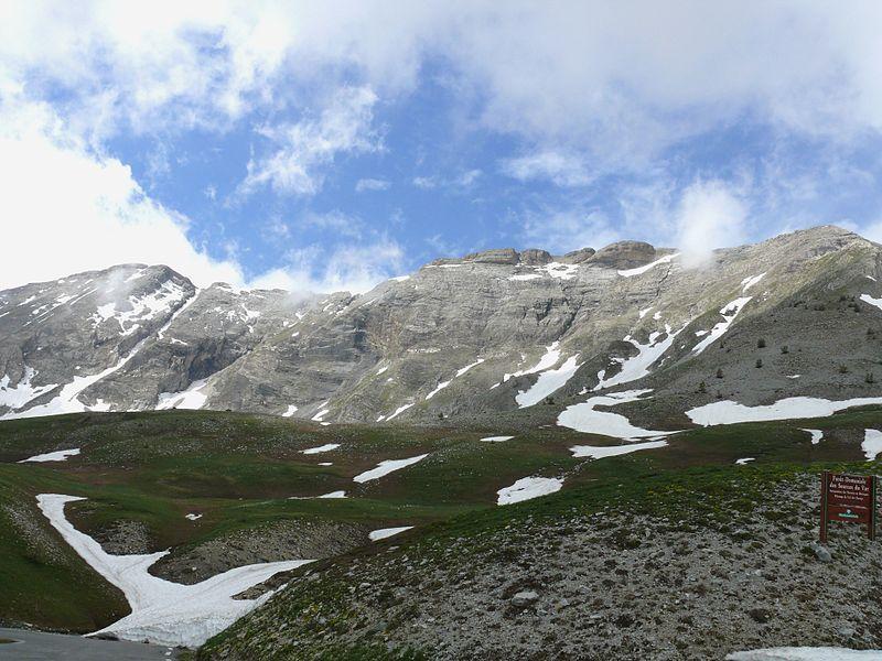 Une vue générale du Col des Champs.