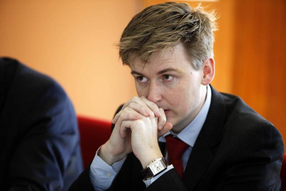 François-Xavier Lauch, sous-préfet des Alpes-Maritimes, responsable de la sécurité du département.