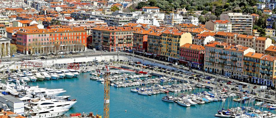 Une vue du port de Nice (image d'archives)